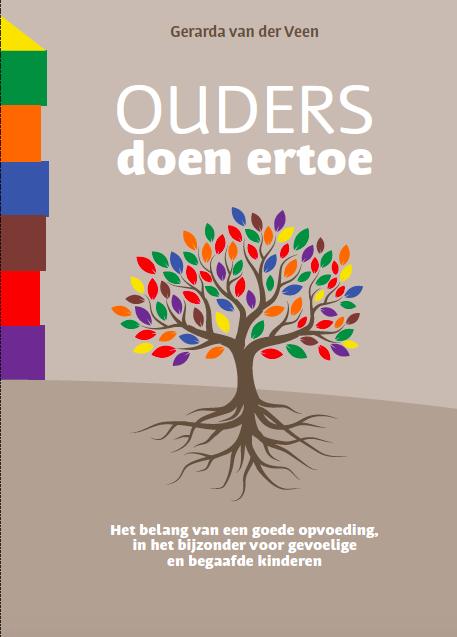 Het boek Ouders doen ertoe van Gerarda van der Veen